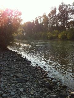 Rogue River downstream at Sunset