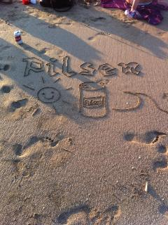 Subliminal sand message!