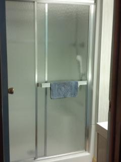 Shower enclosure - oversized, new