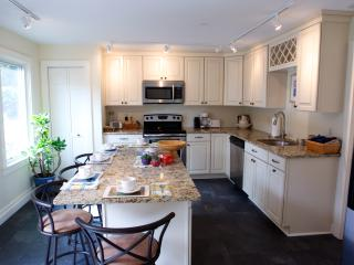 Kitchen remodeled with all modern conveniences