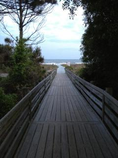 Alder Beach Boardwalk