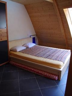 Downstairs Bedroom with double bed