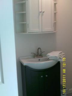 Bath Vanity and Cabinet