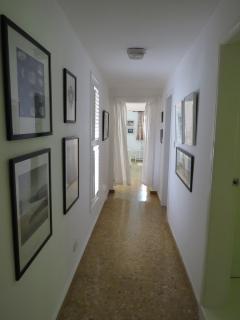 Artwork in passageway