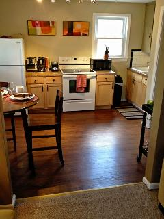 Well appointed kitchen ideal for extended stays.