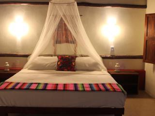 cabana with private kitchen bath pool near Tulum, Macario Gomez