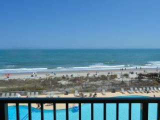 Oceanfront 1BR @ MB Resort! Pools/gym/WiFi - A407, Myrtle Beach