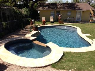 Fun SoCo home + Studio with NEW POOL & HOT TUB!