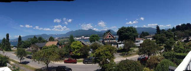 Panorama from top floor of neighbourhood house
