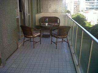 balcony (view of Prudente de Moraes street and its trees.