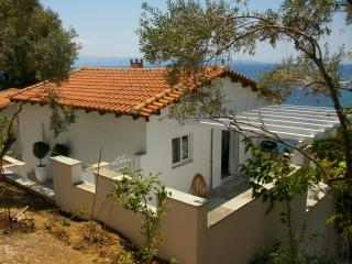 Fresh and light villa with amazing sea views, Kanapitsa