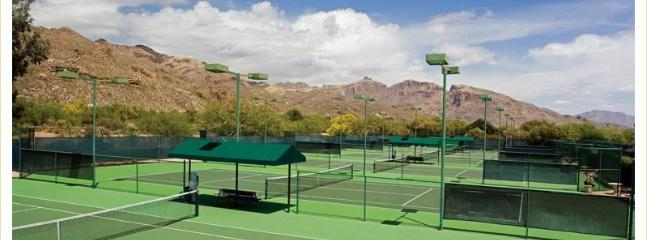 Use of the Lodge's tennis courts at member's rates (typically free to $10/hr)
