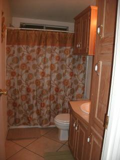 Bathroom 2 with comb shower/bathtub