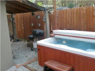 Crazy Bear vacation Rental, cozy, yet beautiful, mountain decor cabin., Big Bear City