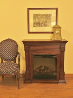 Ambient heat fireplace