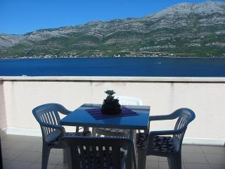 Apartment by the sea in quite place in Korcula, Korcula Island