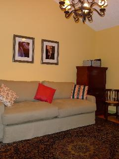 Second bedroom, sofa bed