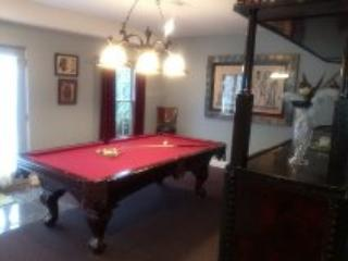 Bar and Billiards room