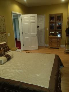Master bedroom with adjoining Jr. Bedroom (not seen in pic)