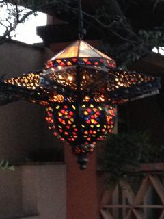 Central Courtyard Pendant Light (the Jewel of the Jewels)