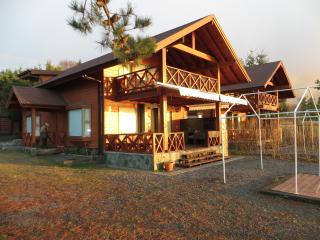 Casas nuevas orilla de playa  Lago Villarrica