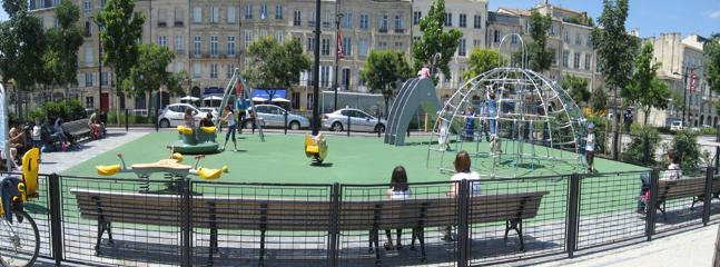 For your little ones, children's playground, just in front of our building