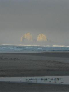Twin Rocks can be viewed from our condo!