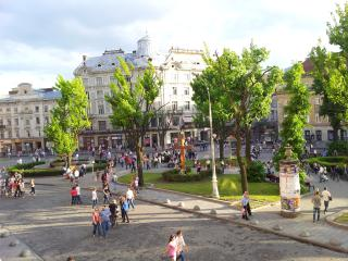 3 ROOMS on Svobody Ave (0 min CENTER) best VIEWS!, Lviv