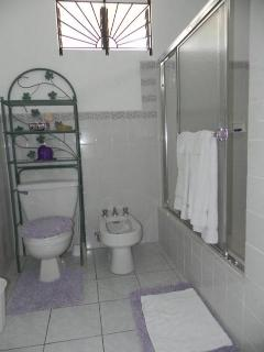 Hot and Cold Shower bathroom