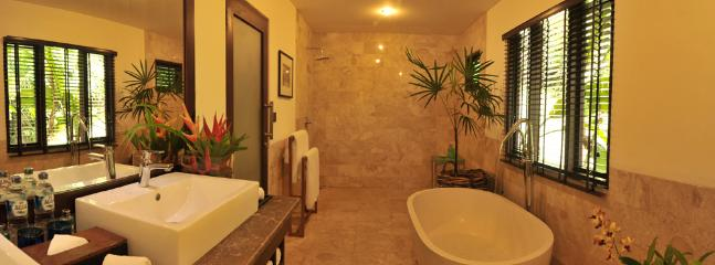 Master Bathroom - spacious and elegant