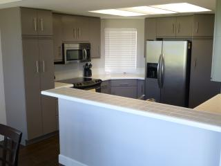 Renovated kitchen.