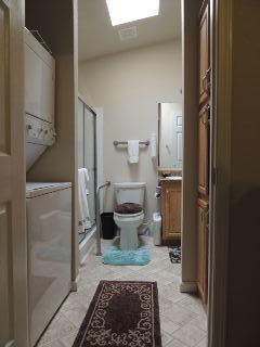 Laundry Room and Storage off Bathroom