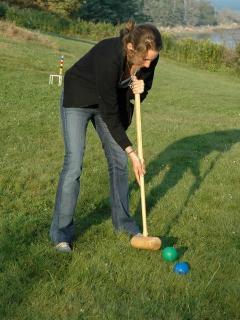 Activity - croquet