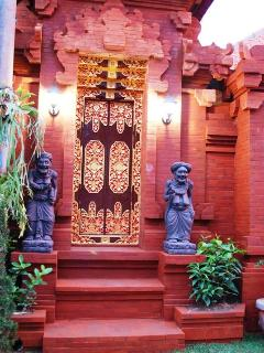 Beautiful handcrafted Balinese Door