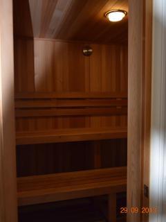 Complex dry sauna