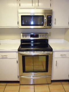 Kitchen Photo-Partial view of stainless appliances