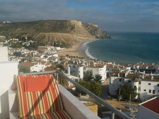 View from Balcony showing Luz Beach and Rocha Negra