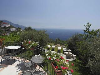 Vettica Estate Short term villa rental Amalfi, Amalfi Italy coastal rental, larg