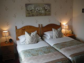 Twin En-suite ,with Loch view. £80.00 PER ROOM, PER NIGHT b&b ,2 PEOPLE SHARING.