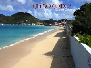 CALYPSO PENTHOUSE... soft sand and endless views from this beautiful beachfront 3 BR  condo in Grand Case