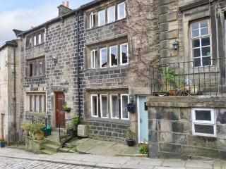 SWEET BRIAR COTTAGE, woodburner, Grade II listed, character features, central village location, in Heptonstall near Hebden Bridge, Ref. 13074