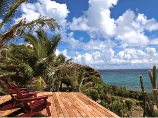 St. Martin Villa 257 A Superb Waterfront 2 Bedroom Villa Located On The Cliffside In Terres Basses With Spectacular Views Of The Ocean.