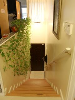 Stairs to Upper Apartment