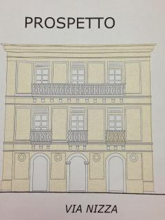 A Drawing of Palazzo Colpace