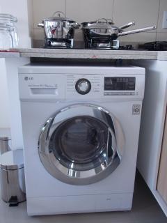 Fogão Cooktop 4 bocas e máquina de lavar e secar LG