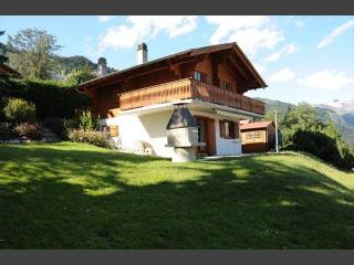 Quiet individual chalet for 6 near Anzere & skiing