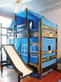 Third Floor South Bunk Bed (there is also a double bed in this room)