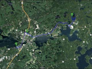 Just 12 Minutes Away from  Huntsville Town Centre & 18 min from Arrowhead Prov Park!
