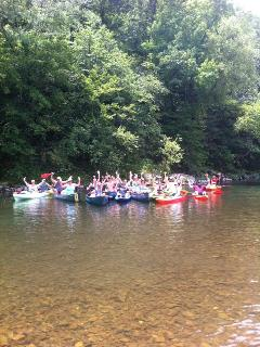 We offer canoeing, kayaking, and tube floats.