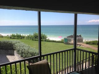 Spectacular Gulf Front Condo, 30 Feet to the beach, 2 Bedroom, 2 Bath, La Coquina Complex